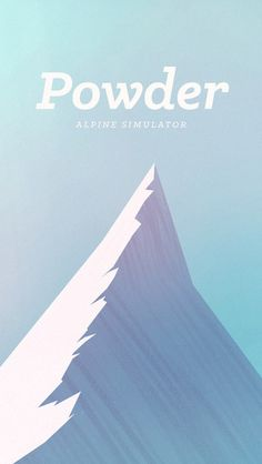 """This is """"Powder - Gameplay Footage Beta"""" by Enormo.us on Vimeo, the home for high quality videos and the people who love them. Ipod Touch, Splash Screen, Time Magazine, Mobile Game, Mobile Ui, Design Art, Graphic Design, Retro, Movie Posters"""