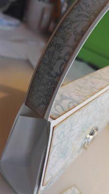 Lisens blogg: Tutorial på veskekortet mitt! Cardmaking, Tutorials, Card Making, Wizards