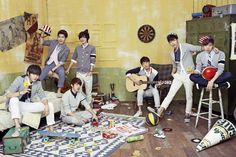 PHOTOS] 130321 INFINITE 'MAN IN LOVE' Jacket Photos | INFINITE7FACTS