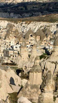 Goreme,  Cappadocia, Turkey♥♥♥