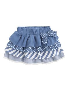 Girl skirt - Mis creaciones a crochet - Kids Outfit Toddler Dress, Toddler Outfits, Kids Outfits, Baby Girl Fashion, Kids Fashion, Baby Frocks Designs, Baby Skirt, Baby Dress Patterns, Frocks For Girls