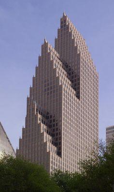 Bank of America Center, Houston - Phillip Johnson