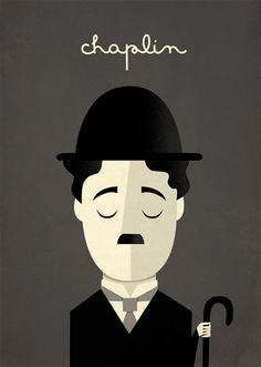 Poster Charlie Chaplin This reminded of the musical Chaplin Charlie Chaplin, Posca Art, Non Plus Ultra, Arte Pop, Illustrations And Posters, Vintage Posters, Creations, Illustration Art, Inspiration
