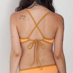 Ensenada Bikini Top - Apricot