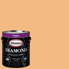 Glidden Diamond 1 gal. #HDGO60U Amberwave Eggshell Interior Paint with Primer-HDGO60UD-01EN - The Home Depot