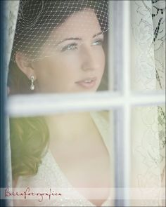 bride looking out window Bridal Poses, Bridal Portraits, Formal Dance, Looking Out The Window, Bride Look, Wedding Shoot, Wedding Things, Lady, Nostalgia
