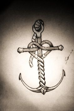 Anchor tattoos are usually pretty cliche. But something about this one is really unique.