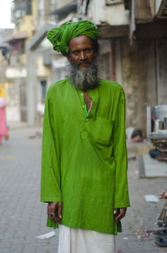 Wear About, Bombay fakir. Such a lovely shade of green.