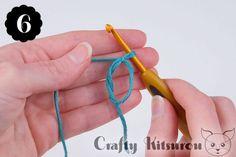Crochet a Magic Ring – Crafty Kitsurou Crochet Paw Patrol Hat, Magic Ring Crochet, Diy Crochet Projects, Magic Circle, Crochet Slippers, Crochet For Beginners, Crochet Stitches, Crafty, Knitting