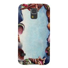 A Seashell Frame Galaxy S5 Cases