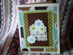Cards – Handmade Card w/4 Cards and Holder