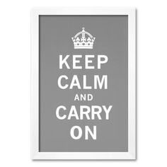 Art.com at Kohl's - Shop our entire selection of framed art prints including this Art.com Keep Calm and Carry On Framed Art Print, at Kohls.com. Model no. 9371167  #keepcalm #coupons