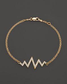 Khai Khai Diamond Mini Shockwave Bracelet in 18K Yellow Gold, .5 ct. t.w.