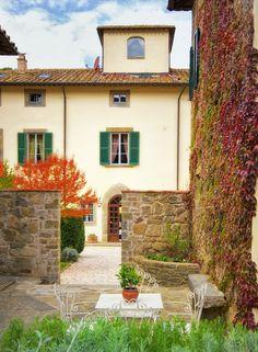 Garden Photo Gallery for Hotel Villa di Piazzano Cortona Tuscany