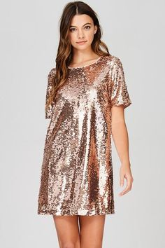 4263be077a8a5 10 Best Rose Gold Sequin Dress images
