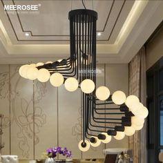 2017 New Modern Chandeliers Lighting Fixture Creative Metal Lustres Hanging Suspendu Lamp for Dining room Home Decoration Light