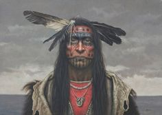 Native American Indian Art Posters, Lithographs, Limited Editions, Giclée fine art reproductions, directly from artist Kirby Sattler online art print gallery. Native American Face Paint, Native American Tattoos, Native American Warrior, Native American Paintings, Native American Pictures, Indian Art Paintings, Native American Artists, American Indian Art, Native American History