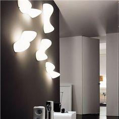 Blob wall lamps by Karim Rashid