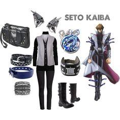 Seto Kaiba by sinraeyan, via Polyvore