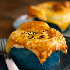 Creamy Miso Chicken & Mushroom Pot Pies – Marion's Kitchen Chicken And Mushroom Pie, Miso Chicken, Kitchen Recipes, Cooking Recipes, Frozen Puff Pastry, Stuffed Mushrooms, Stuffed Peppers, Tray Bakes, Pot Pies