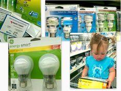 Shopping for Energy Smart bulbs at Walmart #GELighting