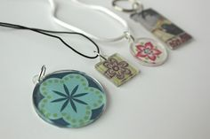 Smashed Peas and Carrots: Personalized Jewelry Pendants-TUTORIAL