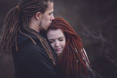 Dreadlocks couple Paarshooting