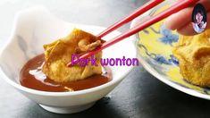 Dumpling Recipe, Dumplings, Deep Fried Wontons, Fried Pork, Japanese House, Chinese Style, Dishes, Meat, Cooking