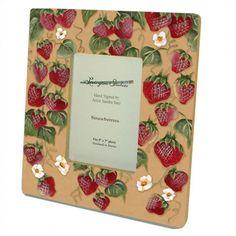 Lexington Studios Strawberries Decorative Picture Frame - 11015