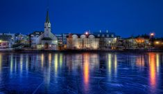 Because of the name Iceland, the common misconception is that Iceland, and Reykjavik, is a constantly frozen winter-wonderland.