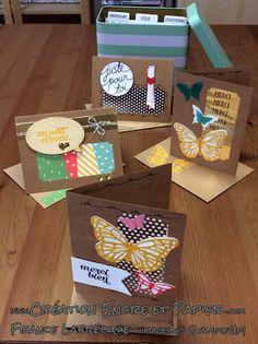 @Coffret de Souhaits @Tin of Cards Project Kit @Stampin'Up! www.creationencreetpapier.com