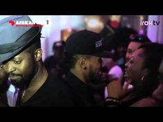 2Face Idibia, Basketmouth, Timaya, Iyanya, Bovi, Mr. Ibu @ African Muzik Magazine Launch - YouTube