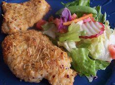 Souschef Secrets: Easy Parmesan Garlic Chicken - Baked