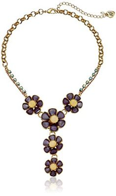 "Betsey Johnson Spring Ahead Faceted Stone Flower Y-Shaped Necklace,16"" + 3"" Extender Betsey Johnson http://www.amazon.com/dp/B01563OU42/ref=cm_sw_r_pi_dp_j4Vexb1F6PSGV"