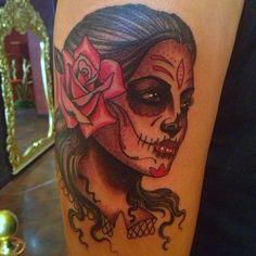Tattoo by Nate Fierro