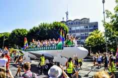 Air Lingus Pride float by Bui Bolg Jazz Festival, Community Events, 40th Anniversary, The Ordinary, Pride, Street View, Spring Summer, Image