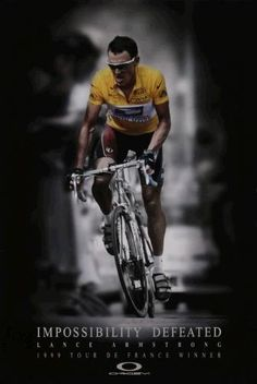 Lance Armstrong / Oakley advert