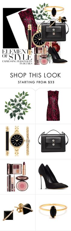 """Untitled #2598"" by empathetic ❤ liked on Polyvore featuring Diane Von Furstenberg, Style & Co., Balenciaga, Charlotte Tilbury, Casadei, Bing Bang and Vera Wang"