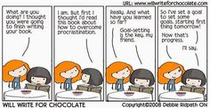 Debbie Ridpath Ohi. // Pretty much every writer...