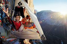 A Different Kind Of Camping : all that is interesting...wow!! don't know if I would be brave enough to try this but wow!!