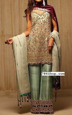 Pistachio Green Chiffon Suit   Buy Pakistani Fashion Dresses and Clothing Online in USA, UK Pakistani Dresses Online Shopping, Pakistani Formal Dresses, Pakistani Outfits, Online Dress Shopping, Pakistani Designer Clothes, Pakistani Designers, Indian Designer Outfits, Stylish Dress Designs, Stylish Dresses