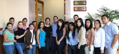 Me visitan en el Congreso del Estado, los alumnos del Noveno Semestre de la Sección 25 de la Facultad de Administración de la Universidad Michoacana de San Nícoles de Hidalgo;