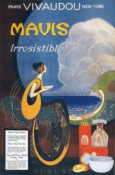 Fred L. Packer, Mavis Perfume, August 1920 | Flickr - Photo Sharing!