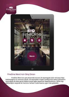 FineDine Tablet Menü  http://www.finedinemenu.com/