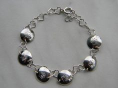 Tassutellen-rannekoru Bracelets, Silver, Jewelry, Jewlery, Money, Bijoux, Schmuck, Jewerly, Bracelet