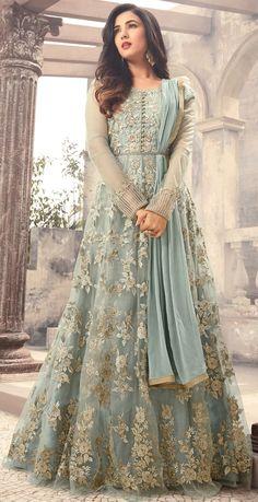 Looking to buy Anarkali online? ✓ Buy the latest designer Anarkali suits at Lashkaraa, with a variety of long Anarkali suits, party wear & Anarkali dresses! Eid Dresses, Pakistani Dresses, Bridal Dresses, Party Wear Indian Dresses, Walima Dress, Asian Wedding Dress, Pakistani Suits, Gown Dress, Long Dresses