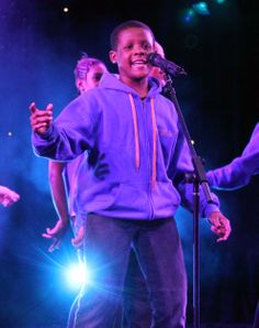 Y&T student Jordan performing at Jack Petchey Award Ceremony on Wednesday 19th March 2014