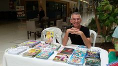 Moacir Torres - Projeto Autores & Livros no Shopping Parque Mall - Indaiatuba - 2017