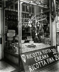 Italian deli...Ricotta for sale!