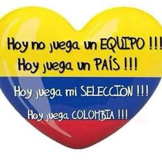 Hoy no juega un equipo ¡¡¡❤️ Hoy juega un PAÍS ¡¡¡ ❤️ Hoy juega mi SELECCIÓN ¡¡¡❤️ Hoy juega COLOMBIA ¡¡¡ Colombia Soccer, Colombian Culture, Soccer Memes, Colombia Travel, James Rodriguez, Nostalgia, Instagram, Yui, Ideas Para